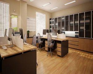 Màu sắc sàn gỗ cho văn phòng