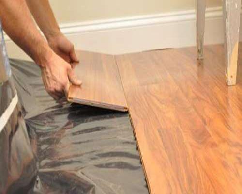Thi công Lắp đặt ván sàn gỗ công nghiệp chính hãng