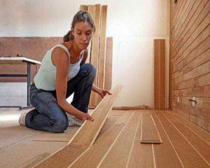 Xử lý khi sàn gỗ bị co ngót, phồng rộp