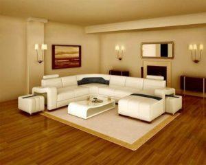 Sàn gỗ công nghiệp cho phòng khách