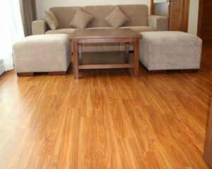 Sàn gỗ công nghiệp phòng khách