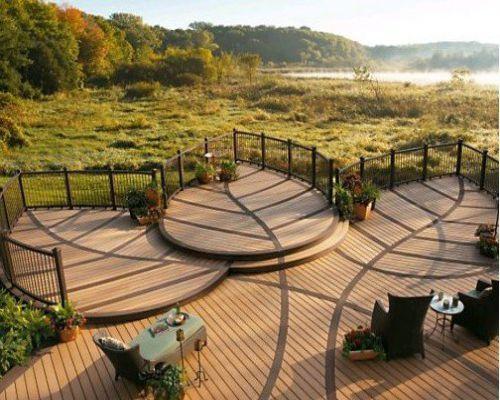 Sàn gỗ ngoài trời – vật liệu chịu nhiệt cao