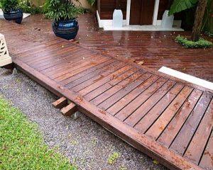 Lý do chọn sàn gỗ ngoài trời cho khu vực sân vườn