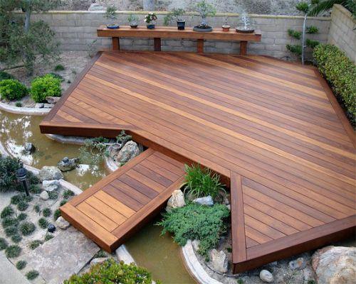 Sàn gỗ ngoài trời chịu nước tốt