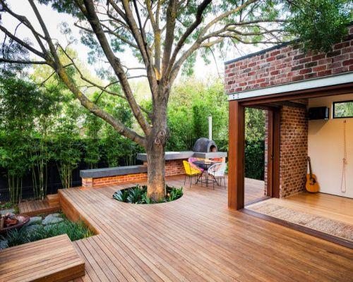 Sàn gỗ ngoài trời cho không gian ngoại thất tại Hà Nội