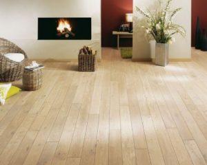 Sàn gỗ tự nhiên gam màu sáng
