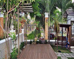 Sàn gỗ ngoài dành cho khu vực ngoài trời sân vườn