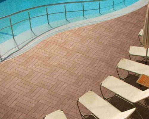 Sàn gỗ ngoài trời có khả năng chịu nước tốt