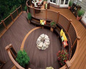 Một số lưu ý trong quá trình sử dụng và bảo quản sàn gỗ ngoài trời