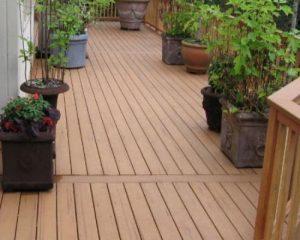 Sàn gỗ ngoài trời cho không gian ban công