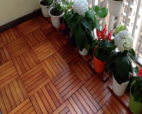 Sàn gỗ ngoài trời cho khu vực ban công