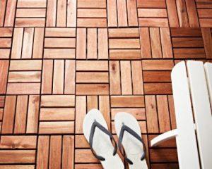 Tấm sàn gỗ ngoài trời chịu nhiệt và bền màu