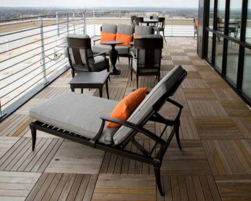 Sàn gỗ công nghiệp chịu nhiệt thấp hơn sàn ngoài trời
