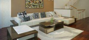 Cách chọn sàn gỗ công nghiệp cho phòng khách đẹp như ý