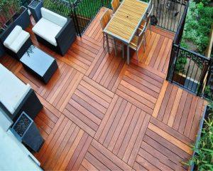 Giá sàn gỗ ngoài trời tại hà nội