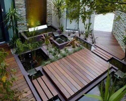 Sàn gỗ ngoài trời thân thiện và an toàn với người dùng