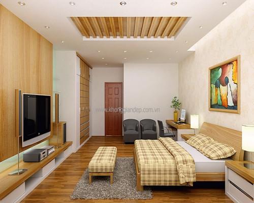 sàn gỗ cho phòng ngủ ấm cúng