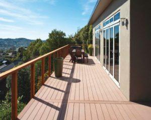 Một số loại vật liệu và ứng dụng thực tế của sàn gỗ ngoài trời hiện nay
