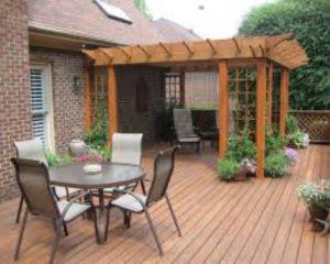 Làm đẹp không gian ngoại thất ngoài trời với sàn gỗ ngoài trời TECWOOD