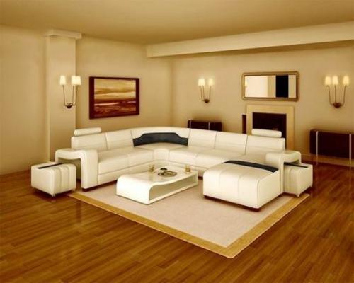 sàn gỗ công nghiệp cho không gian phòng khách