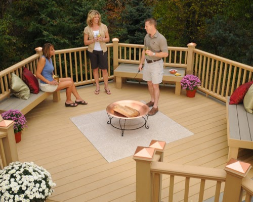 Sàn gỗ ngoài trời – sản phẩm tốt