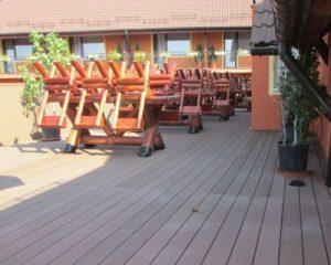 Cách lựa chọn sàn gỗ ngoài trời sân vườn cho quán cafe sang trọng