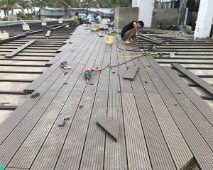 Hướng dẫn cách thi công lắp đặt sàn gỗ ngoài trời hiệu quả nhất