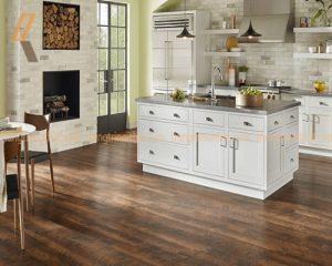Một số lưu ý quan trọng nhất khi lựa chọn sàn gỗ công nghiệp cho phòng bếp
