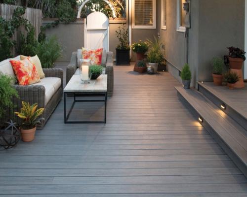 sàn gỗ ngoài trời sân vườn